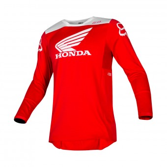 Maillot Cross FOX 180 Honda Rouge
