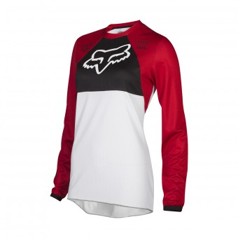 Maillot Cross FOX 180 Mata Drip Cardinal Women