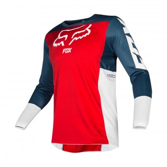 Maillot Cross FOX 180 Przm Navy Red
