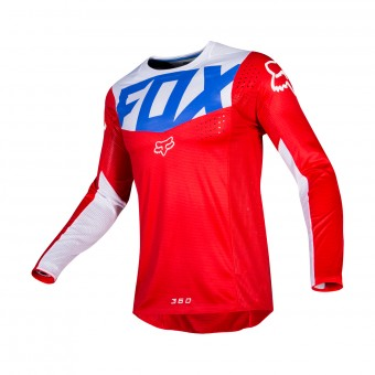 Maillot Cross FOX 360 Kila Bleu Rouge