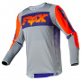 Maillot Cross FOX 360 Linc Grey Orange