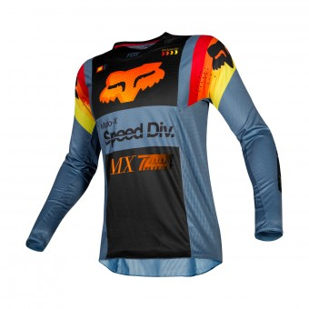 Maillot Cross FOX 360 Murc Bleu Steel
