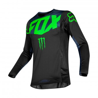 Maillot Cross FOX 360 Pro Circuit Noir
