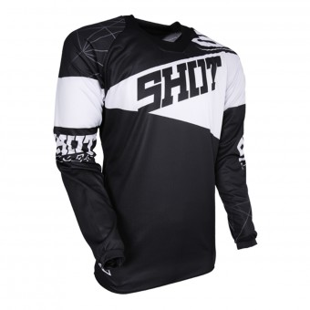 Maillot Cross SHOT Contact Infinite Black