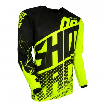 Maillot Cross SHOT Contact Venom Neon Yellow