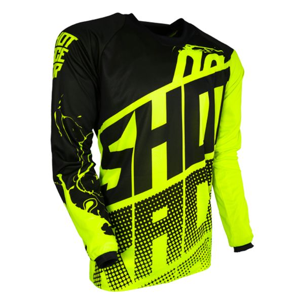 Maillot Cross SHOT Devo Venom Neon Yelow Enfant