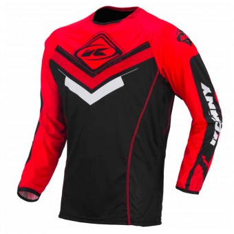 Maillot Cross Kenny Maillot Titanium Black Red