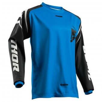 Maillot Cross Thor Sector Zones Blue