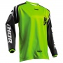 Maillot Cross Thor Sector Zones Lime Enfant