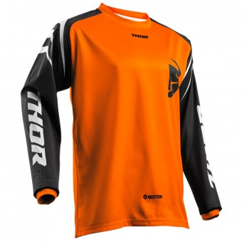 Maillot Cross Thor Sector Zones Orange