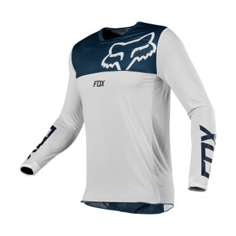 Maillot Cross FOX Airline Navy White
