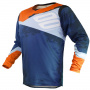 Maillot Cross SHOT Contact Shadow Blue Orange