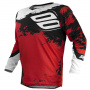 Maillot Cross SHOT Contact Shadow Red White