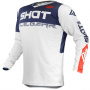 Maillot Cross SHOT Contact Trust Blue Red