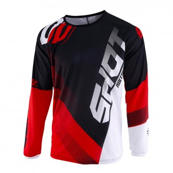 Maillot Cross SHOT Devo Ultimate Noir Rouge