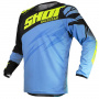 Maillot Cross SHOT Devo Ventury Cyan Neon Yellow Kid