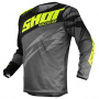 Maillot Cross SHOT Devo Ventury Dark Grey Neon Yellow Kid