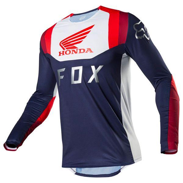 Maillot Cross FOX Flexair Honda Navy Red