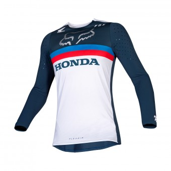 Maillot Cross FOX Flexair Honda Navy