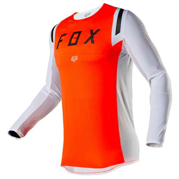 Maillot Cross FOX Flexair Howk Fluo Orange