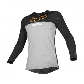Maillot Cross FOX Flexair Royl Gris