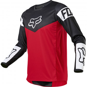 Maillot Cross FOX 180 Revn Flame Red