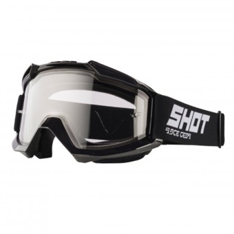Masque Cross SHOT Assault Black Enduro