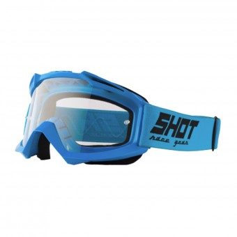 Masque Cross SHOT Assault Blue