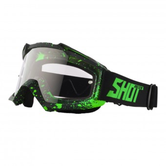 Masque Cross SHOT Assault Drop Neon Green Matt