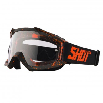 Masque Cross SHOT Assault Drop Neon Orange Matt
