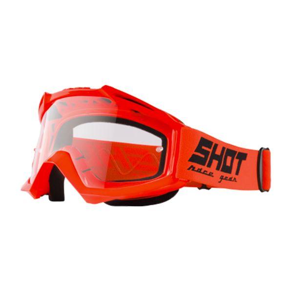 Masque Cross SHOT Assault Neon Orange