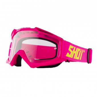 Masque Cross SHOT Assault Neon Pink