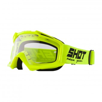 Masque Cross SHOT Assault Neon Yellow