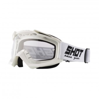 Masque Cross SHOT Assault White