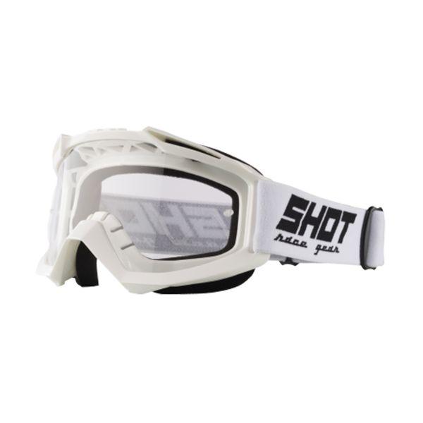 Masque Cross SHOT Assault White