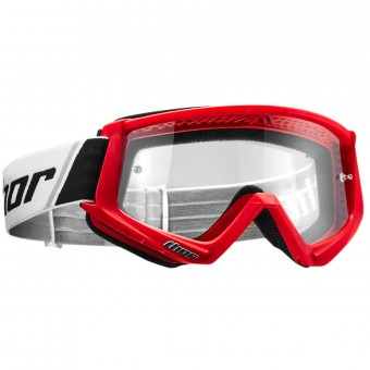 Masque Cross Thor Combat Red Black