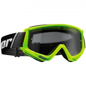 Masque Cross Thor Combat Sand Fluo Green Black