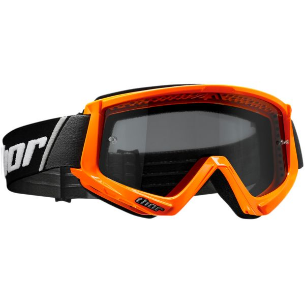 Masque Cross Thor Combat Sand Fluo Orange Black