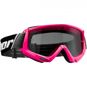 Masque Cross Thor Combat Sand Fluo Pink Black