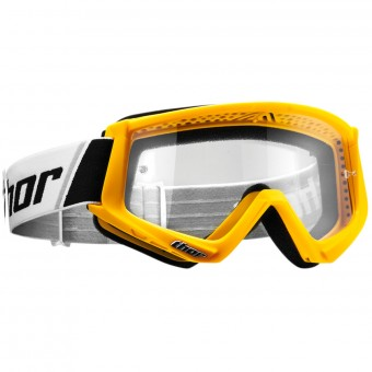 Masque Cross Thor Combat Yellow Black