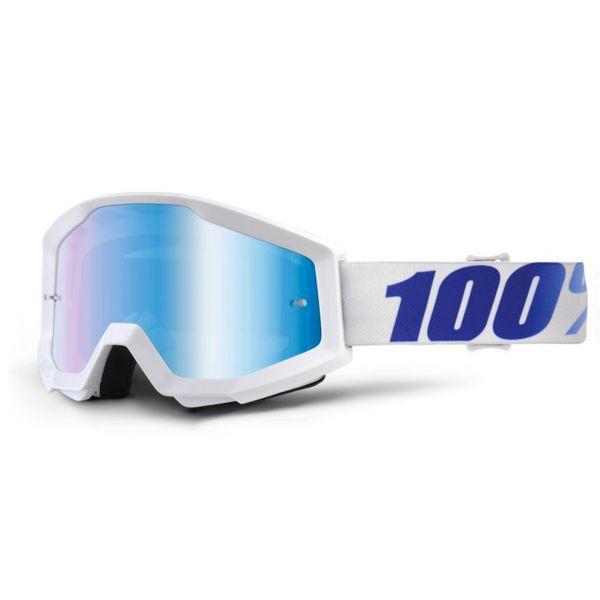 Masque Cross 100% Strata Equinox Mirror Blue Lens