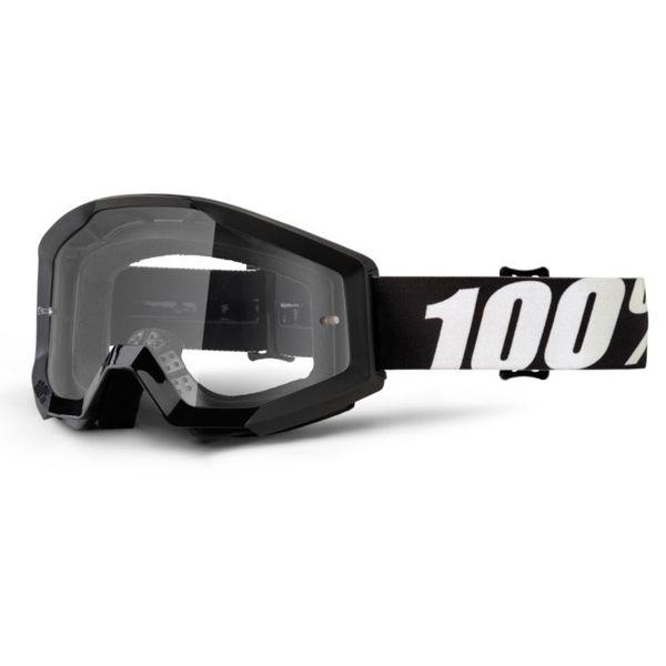 Masque Cross 100% Strata Outlaw Clear lens