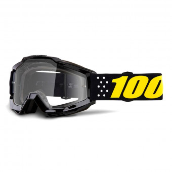 Masque Cross 100% Accuri Pistol Junior Clear Lens