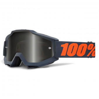 Masque Cross 100% Accuri Sand Gunmetal Grey Smoke Lens
