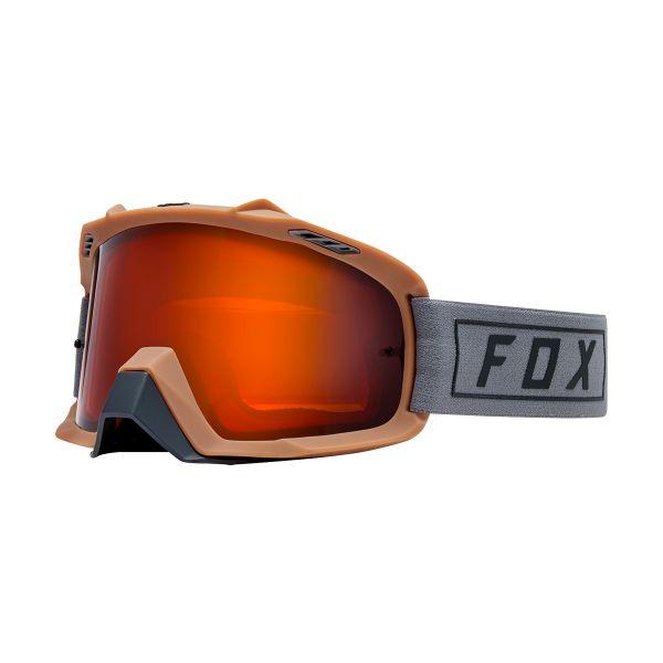 Masque Cross FOX Airspace Enduro Gris Iridium Orange