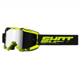 Masque Cross SHOT Iris Jet Black Neon Yellow