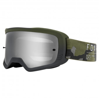 Masque Cross FOX Main II Game Camo Chrome Mirror Lens