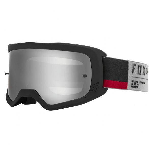 Masque Cross FOX Main II Gain Grey Chrome Mirror Lens
