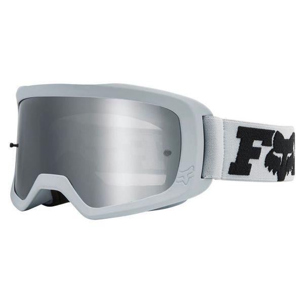 Masque Cross FOX Main II Linc Light Grey Chrome Mirror Lens