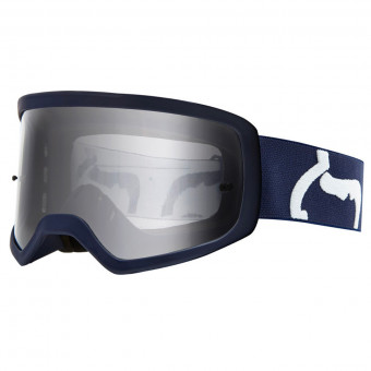 Masque Cross FOX Main II PC Prix Navy Enfant